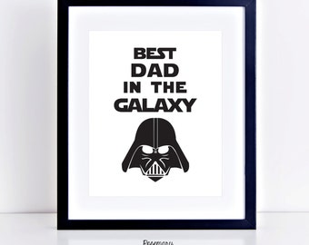 Darth Vader Best Dad In The Galaxy Star Wars Car Decal Bumper