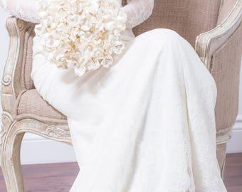 Wedding Bouquet - Butterfly Pearl Bridal Bouquet - Ivory Bouquet, Butterfly Bouquet, Fabulous Brooch Bouquet Alternative