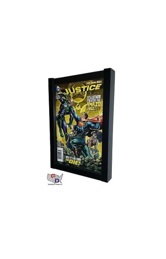 Comic Book MAGAZINE Display Frame Case Black Shadow BOX from ...