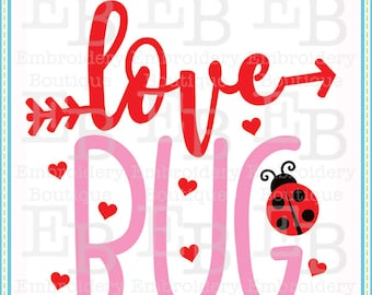 Love Bug SVG - This design is to be used on an electronic cutting machine. Instant Download