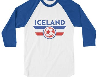 Iceland World Cup Soccer Shirt Football