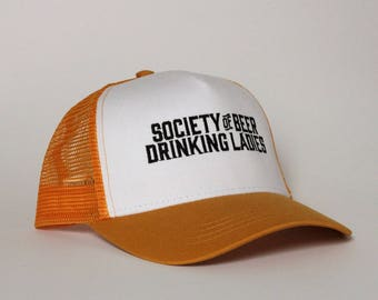 Trucker Hat - Stacked Logo Society of Beer Drinking Ladies™