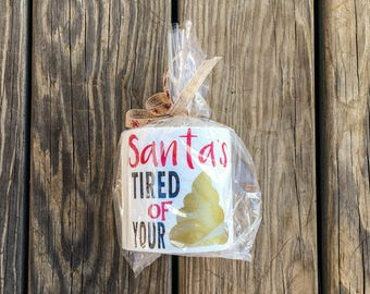 Crappiest Gift I could find ~ Toilet Paper ~ Christmas gag gift~ prank gift ~ funny gift ~ heat transfer vinyl ~ bathroom decor
