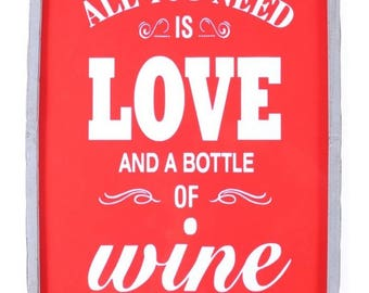 Lamp LED Love and Wine