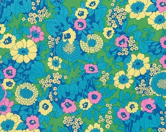 1/2 yd Hotel Frederiksted Mabel by Jennifer Paganelli for Free Spirit Fabrics PWJP121.GREEN