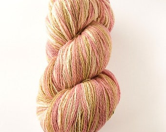 Kauni Wool Yarn 8/2 Color EJ, Self-Striping Light Pink Beige Vanilla EJ