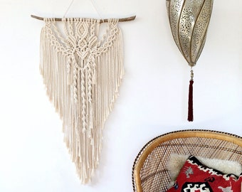 Large Macrame Wall Hanging / Boho Wall Hanging / Modern Macrame / Wall Tapestry / Wedding Decor / Boho Decor