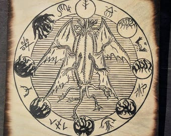 Elder Thing Sigil - Lovecraft inspired occult symbol