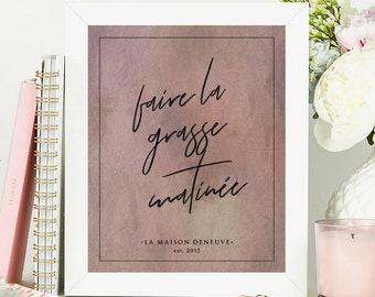 Marvelous Personalized Wall Art, Housewarming Gift, Newlywed Gift, French Wall Decor,  Wedding Gift