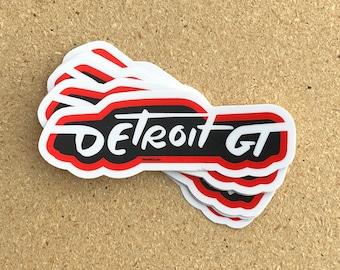 DetGT Sedan Sticker