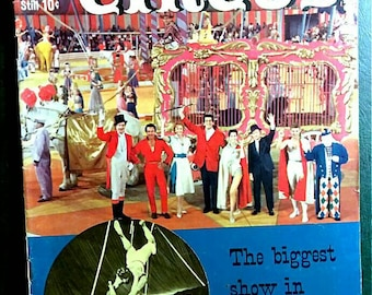 The Big Circus # 1036 Dell Comics Movie Classic 1959 VF