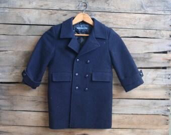 Vintage Blue Vintage Lined Coat by Brian Matthews Size 3T