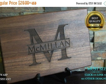 Engraved wood cookware, Personalized Cutting Board, Engraved Cutting Board, Custom Board, Wedding Gift, Anniversary Gift, Bridal Gift, Chri