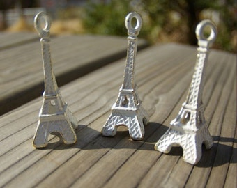 Vintage  white Eiffel Tower
