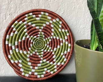 Vintage coil wall decor