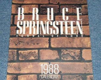 Bruce Springsteen 1988 Calendar