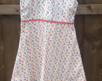 Liberty Tana Lawn Girls DRESS 2/3 years