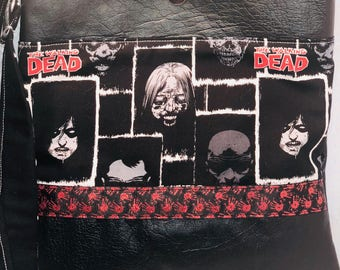 The Walking Dead Crossbody/ Messenger Purse