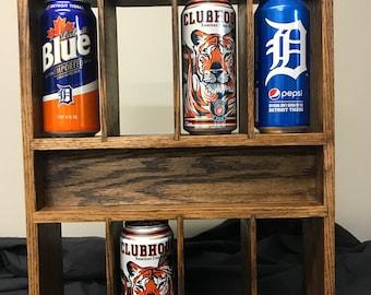 Custom made can display