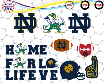 Notre Dame Fighting Irish svg,png,dxf/Notre Dame Fighting Irish clipart for Print/Design/Cricut/Silhouette and any more