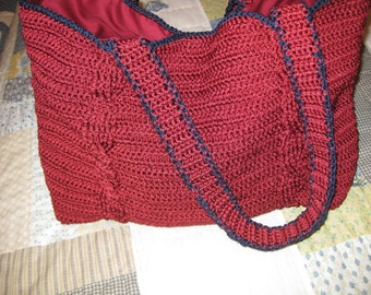 Twin Cables Purse PDF file only