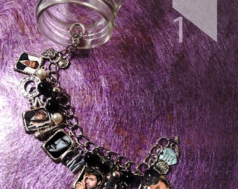 George Michael Charm Bracelet & Necklace