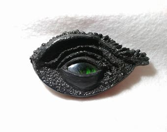 Green-Eyed Dragon Amulet