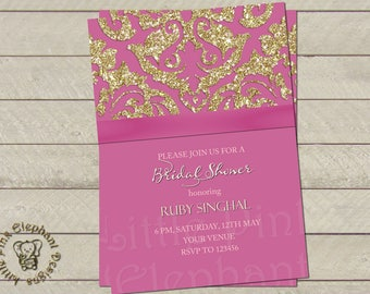 Mehndi Party Invites : Mehndi shower invite etsy