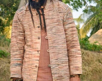 Khadi Cotton Jacket ~