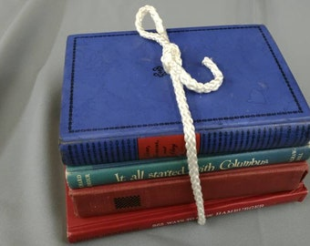 Bundle of Patriotic American Flag Colored Books ~ House and Party Decoration for Indendence Day, Fourth of July