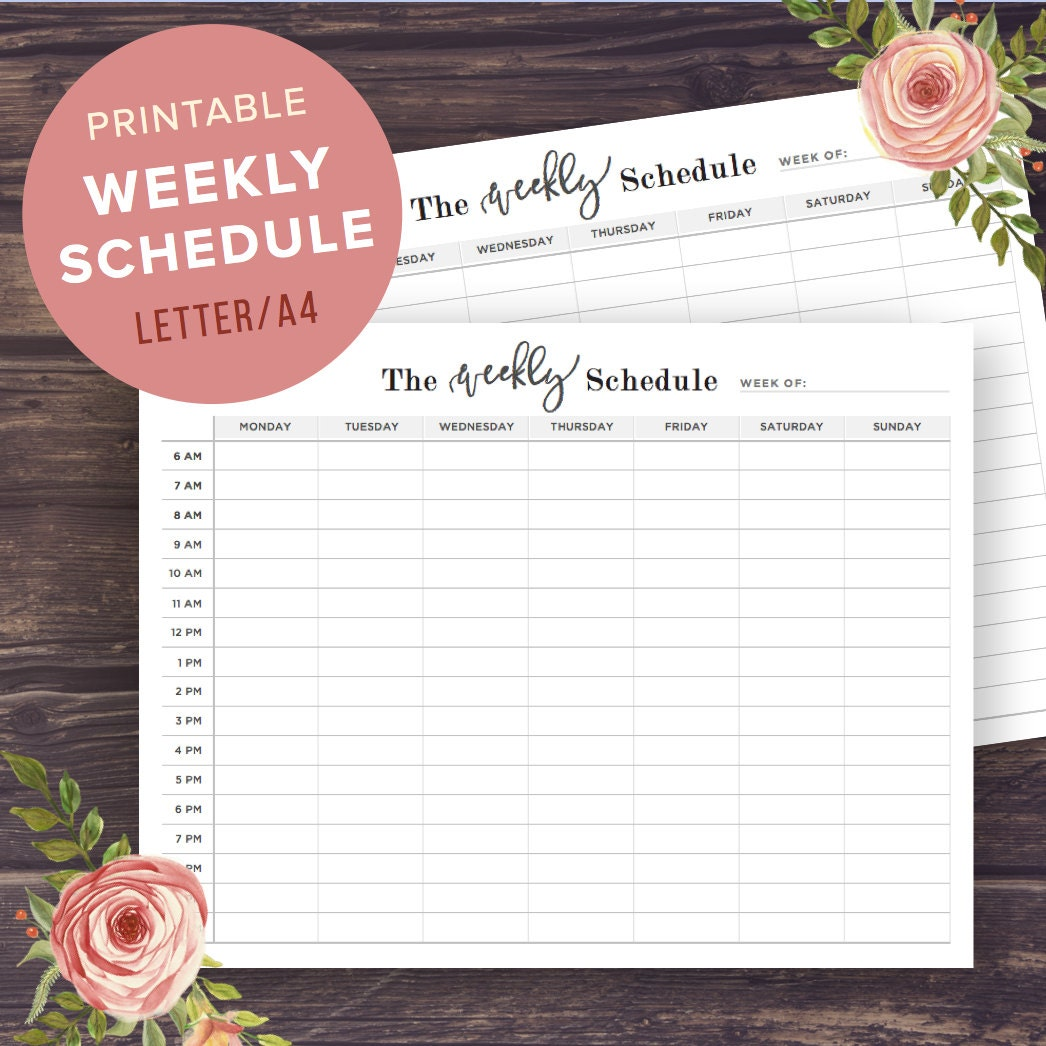 This is a graphic of Dashing Class Schedule Printable