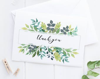 Botanical Thank You Card Packs