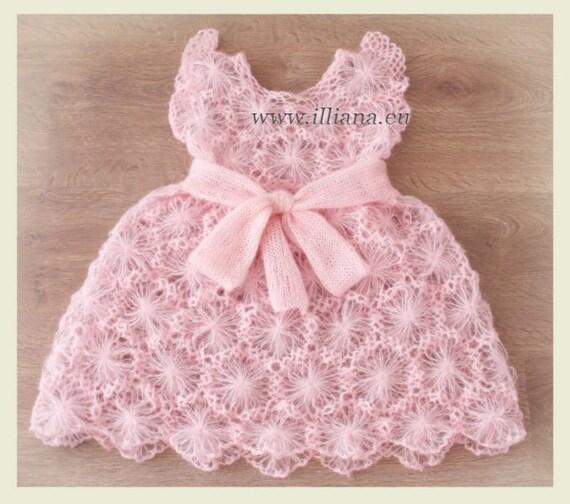 Crochet Pattern Kid Mochair Dress No 56