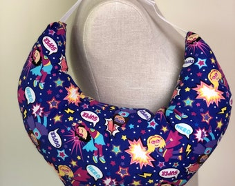 Mastectomy Surgical Pillow - Girl Super Hero