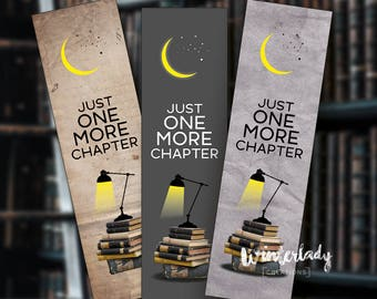 Just one more chapter Bookmarks | Quote | Printable