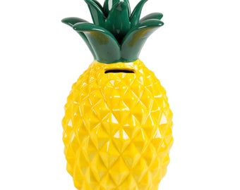 Piggy bank Tropical pineapple
