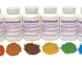 Complete Set (10) Highly Concentrated Colorants for Mosaic Projetcts - Great Variety - Great Deal