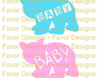 Baby Bear SVG JPEG Cut File, Digital Download, Circuit Ideas, SVG Cut Files, Circuit File, Silhouette File, Svg, Svgs, Baby Shower, Clip Art