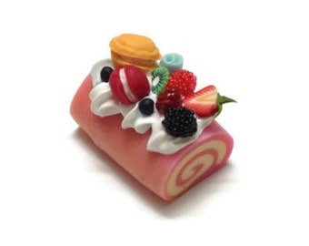 Miniature Sweet - Roll Cake topping RC006