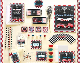 CAR PARTY COLLECTION  - Personalized Printable Download