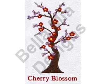 Blossom - Machine Embroidery Design, Cherry Blossom, Asian Cherry Blossom