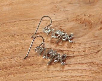 hope - Surgical Steel / Niobium / Titanium Hypoallergenic Earrings for Sensitive Ears - Nickel Free by Pretty Sensitive Ears