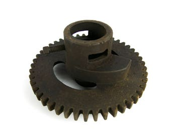 Antique Buffalo Forge Co. No. 61R Post Mount Drill Press Spindle Drive Gear