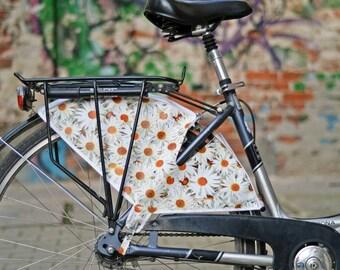 "Bicycle skirt guard ""Daisies"""