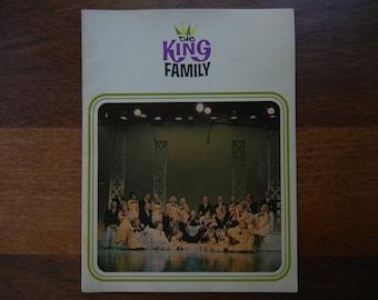 The King Family Souvenir Program ~ 1965