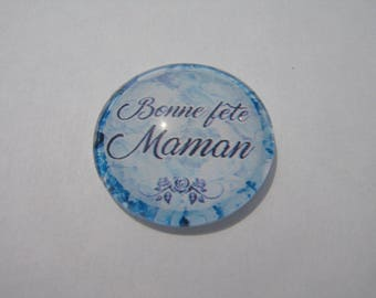 Cabochon 25 mm round domed mother's day.