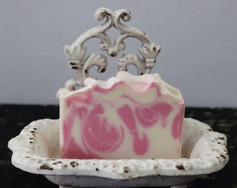 Red Berry Rhubarb Soap