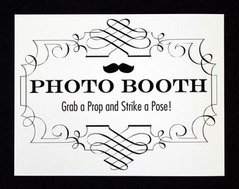 Photo Booth Sign. Photo Booth Prop. Photobooth Prop. Photo Booth. Wedding Decor. Wedding Photos, Wedding Reception