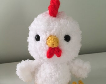 Rooster Amigurumi Crochet Pattern, Chicken Crochet Pattern, Rooster Zodiac Crochet Plushie, Year of the Rooster