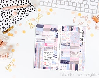 Little One TN STANDARD Weekly Kit // 120+ Matte Planner Stickers // Perfect for your Standard Size Traveler's Notebook // TNS1060